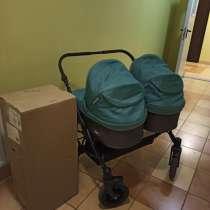 Детская коляска для двойни 2 в 1. Riko, в Красногорске