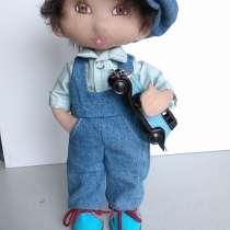Текстильная кукла Артурчик, в Москве