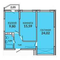 Продам 2 к. квартиру 62 кв. м. ул. К. Россинского, в Краснодаре