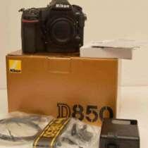 Nikon D850 45.7 MP Digital SLR Camera - Black (Body and batt, в г.Сан-Хосе