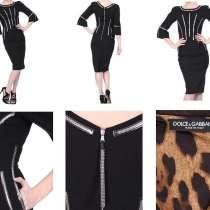 Платье новое Dolce&Gabbana Италия размер S 42 чёрное стразы, в Москве