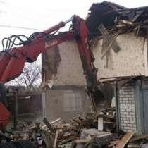 Комплекс снос, расчистка планировка, в Нижнем Новгороде