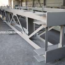 Subcontract works, frameworks steel halls, welded steel, в г.Таллин