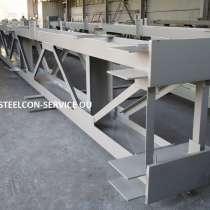Subcontract works, frameworks steel halls, welded steel, в г.Таллин