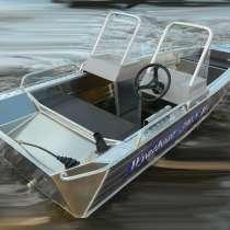 Купить лодку Wyatboat-390 У с консолями, в Иванове