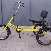 Трехколесный грузовой велосипед для взрослых \ велорикша, в г.Днепропетровск