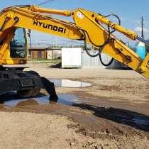 Продам колесный экскаватор Хундай Hyundai R170W, в Екатеринбурге