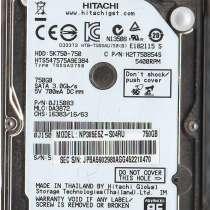 Продается жесткий диск 750Gb для ноутбука HITACHI HDD:5K750-, в г.Баку