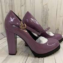 Лакированные женские туфли 37 размер Calipso, в Коркино