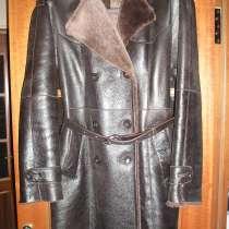 Дубленка (пальто кожаное). Размер 44. Овчина, в Санкт-Петербурге