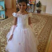 Продам нарядное платье для девочки 6-8 лет, в г.Астана
