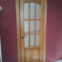 Двери деревянные из массива ясеня, в г.Конотоп