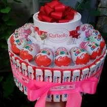 Тортик из конфет и сока в детский садик, в Анапе