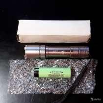 Светодиодный фонарик + Аккумулятор 18650, в Брянске