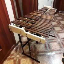 Продаётся мастеровой ксилофон (мастер Терехов) 3,5 октавы, в Санкт-Петербурге