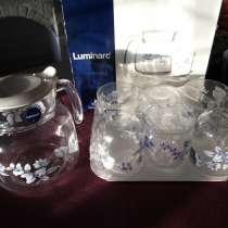 Чайный набор абсолютно новый Люминарк-Голубой, в г.Ташкент