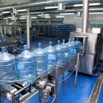 Линия розлива воды в 19 литровые бутыли, 240 б/час, в Тюмени