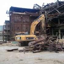 Демонтаж промышленных зданий и сооружений, в Москве