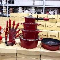Berlinger Haus(Венгрия) наборы посуды антипригар(мрамор), в Москве