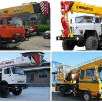 Аренда автокрана от 16-25 тонн, в Новокузнецке