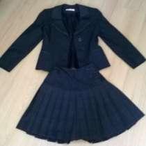 Школьная форма, рост 134-140см, пиджак, юбка, в Калининграде