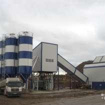Стационарный бетонный завод 60-70 м3 в час, в Перми
