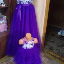 Продается новое платье для девочки размер 80 + ободок, в Тольятти