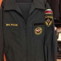 Форма мчс вышитая включая надпись на спине, в Москве