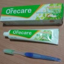 Продам целебную зубную пасту (с зубной щеткой), в Комсомольске-на-Амуре