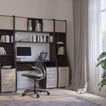 Компьютерный стол Лотта-8 Венге/Дуб молочный (без пеналов), в Кемерове
