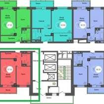 ПРОДАЁТСЯ: 1-комн. квартира на 3-ом этаже в 24-х этажном мон, в Красноярске