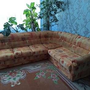 Диван угловой (разбирается в диван кровать), в Тюмени