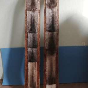 Продам охотничьи лыжи 1550 х 200 на камусе, в Красноярске