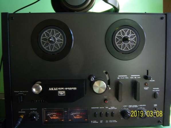 Магнитофон AKAI GX4000D бобинник, катушечный, Япония,220v в Екатеринбурге фото 10