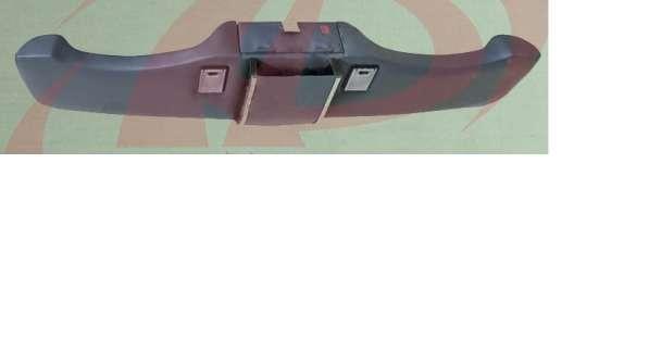 Полка верхняя передняя Газель (дуэт) с подсветкой и бардачко