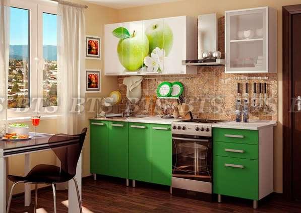 Кухня 1.8м ЛДСП с фотопечатью