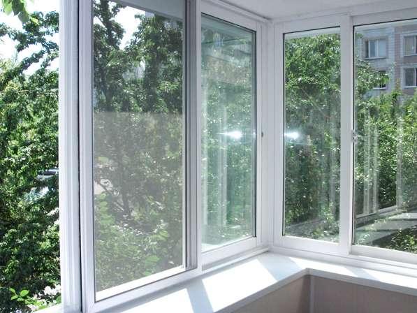 Окна из алюминия на 6 м балкон