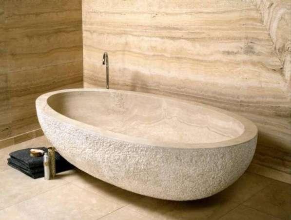 Ванна из натурального мрамора