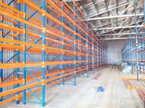 Фронтальные стеллажи рамы 2-12 м. / балки 1.8-3.6м