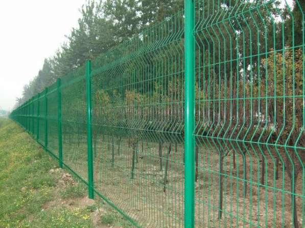 3D Забор, 3Д сварная панель Цинк 2430x2500x4мм