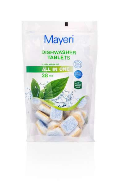 Таблетки для посудомоечных машин All in