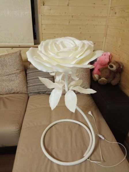 Роза - ночник в Нижнем Новгороде фото 3