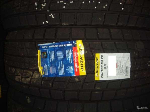 Новые липучки Dunlop 275/40 R20 Winter Maxx SJ8