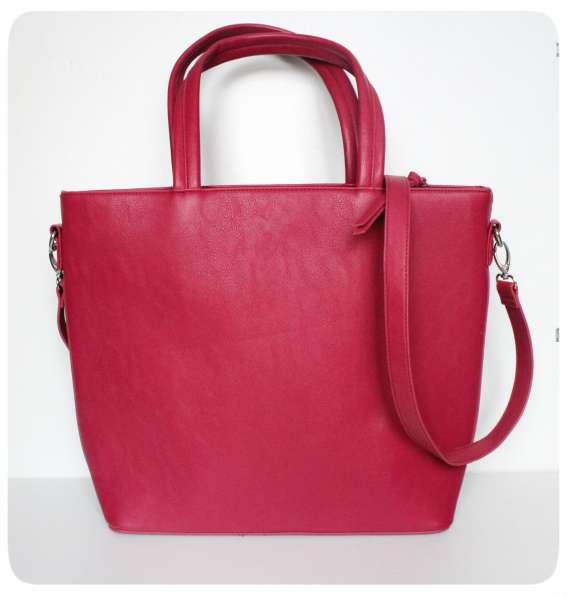 Новая розовая сумка Global