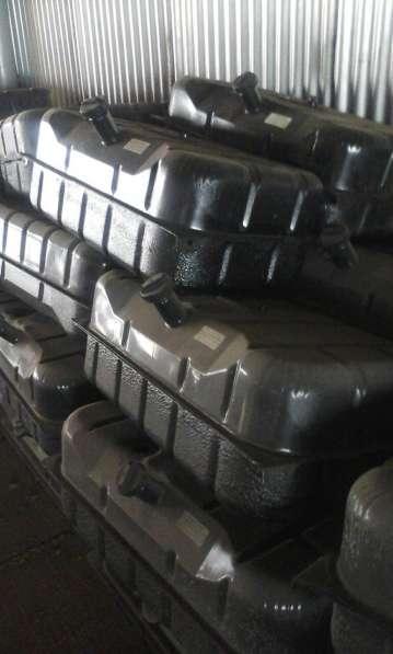 Топливные баки в сборе с кронштейнами 100 литровые