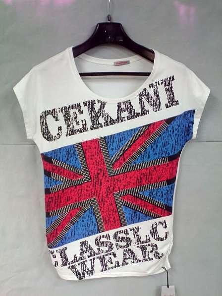 """футболка летняя женская """"Британский Флаг"""""""