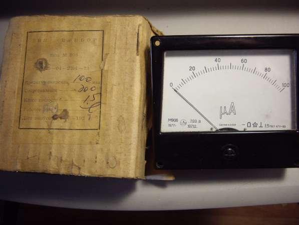 Микроамперметра М906 Новый в упаковке в Челябинске