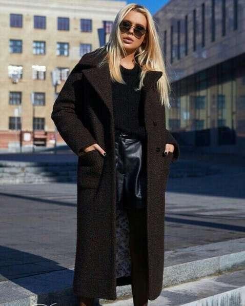 Стильные уютные пальто из натуральных и смесовых тканей 2019 в Новосибирске фото 8