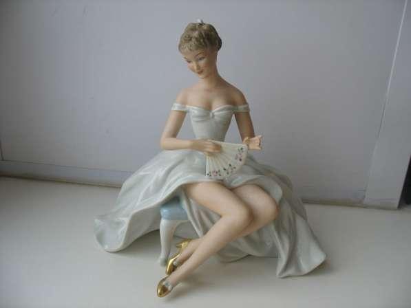 Продам статуэтку. Балерина с веером Германия