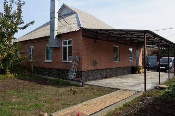 Жилой 4 комнатный кирпичный дом 22 км до Ростова